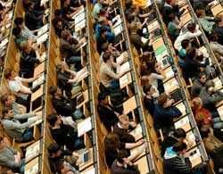 Why students foreigners throw higher education institutions in Germany?